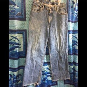 """Abercrombie & Fitch Distress Denim Jeans Sz 33"""""""